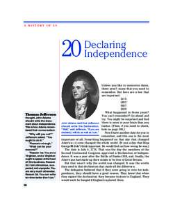 12 hofus3 19, :03 PM Page 98  A HISTORY OF US 20 Thomas Jefferson