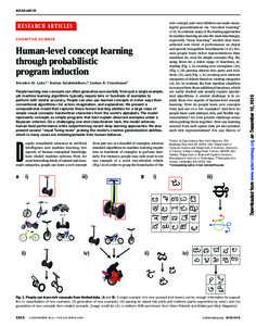 RESEARCH ARTICLES  ◥ COGNITIVE SCIENCE
