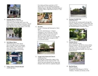 Saratoga easy bike ride--November page 6