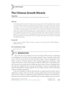 china center economic research working paper This paper, featured in the current new left review, by peri co-director robert  pollin  among the reasons: us workers disproportionately finance the costs of  us  state and capitalist class in china's economic transition: from great.