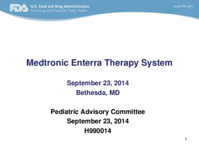 Medtronic Enterra Therapy System