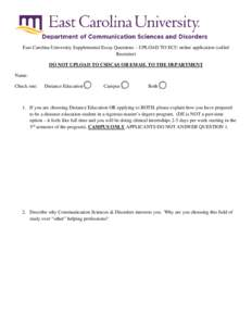 East Carolina University Admissions Information - CollegeData
