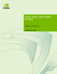 NVIDIA Tegra Linux Driver Package