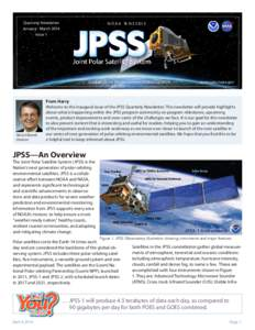 Quarterly Newsletter January - March 2014 Issue 1 N O A A