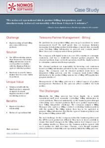 Operational risk management case studies