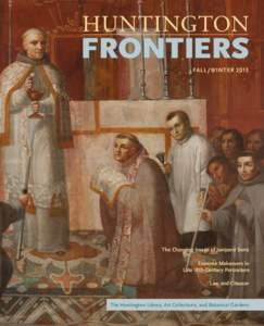 FALL / WINTER[removed]The Changing Image of Junípero Serra Extreme Makeovers in Late 18th-Century Portraiture Law and Chaucer