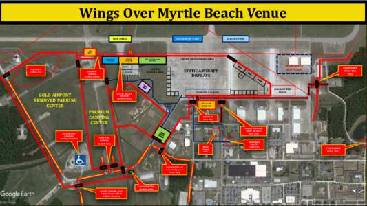 Wings Over Myrtle Beach Venue GEICO SKYTYPERS USAF DEMO/HF TEAMS  BLUE ANGELS
