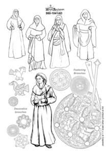 Regia Anglorum Authenticity Guide Regia Anglorum Authenticity Guide 2015 Women's Clothing - Mid (980–1041AD)