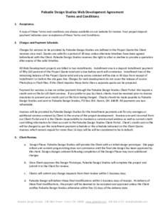 Microsoft Word - Pabodie Design Studios Web Development Agreement-2013.docx