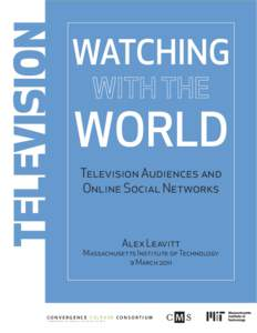 TELEVISION  WATCHING WORLD Television Audiences and