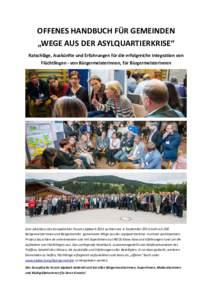 Forum Alpbach – Vernetzungstreffen für Bürgermeisterinnen und Bürgermeister