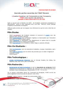 Automobile idmarch document search engine - Communique de presse portes ouvertes ...