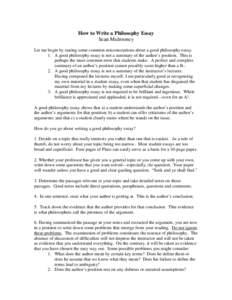 essay against religion