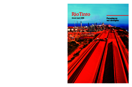rin tinto group annual report Our annual reporting section  you can discover the highlights of our 2017 performance and download all group reports  annual report 2017.