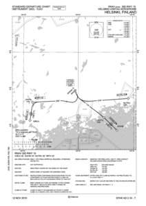 STANDARD DEPARTURE CHART INSTRUMENT (SID) - ICAO RNAV (GNSS) SID RWY 15 HELSINKI-VANTAA AERODROME