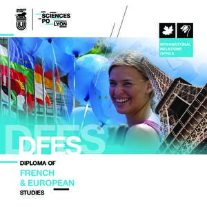 INTERNATIONAL RELATIONS OFFICE DFES DFES