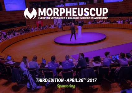 THIRD EDITION - APRIL 28TH 2017 Sponsoring 2  ABOUT