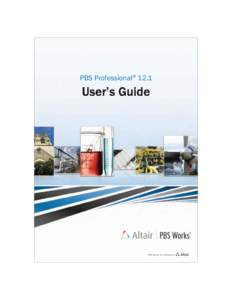 PBS Professional 12.1 User's Guide