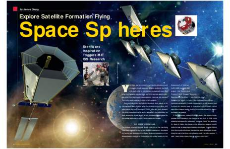 by James Oberg  Explore Satellite Formation Flying Space Sp heres PHOTOS AND ILLUSTRATIONS COURTESY OF NASA