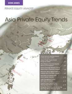 PRIVATE EQUITY ANALYST  Asia Private Equity Trends INSIDE China Venture Investing Soared