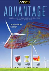advantage  TM excellence in engineering simulation volume V