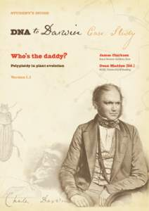 STUDENT'S GUIDE  Case Study Who's the daddy?  James Clarkson
