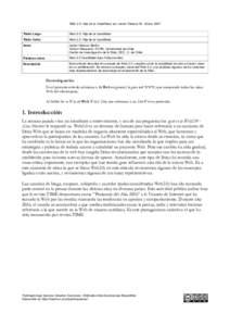 Web 2.0: Hija de la Usabilidad, por Javier Velasco M., Enero 2007 Título Largo Web 2.0: Hija de la Usabilidad  Título Corto