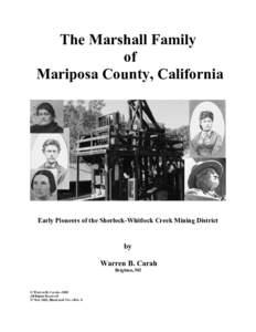 Microsoft Word - Marshall Family-Illustrated Ver, Rev 1.doc
