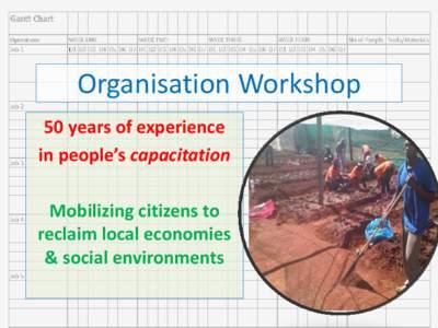 Development / Vocational education / Education / Urban studies and planning / Community development / Community building