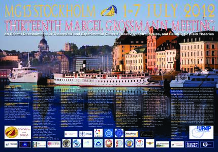 MG13 STOCKHOLM  1-7 JULY 2012 on Recent Developments in Theoretical and Experimental General Relativity, Astrophysics, and Relativistic Field Theories