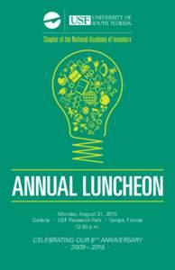 NAI Chpt Lunch Program cover SU15