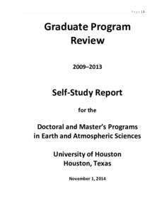 Microsoft Word1_EAS Self-Study Report of Graduate Program Review