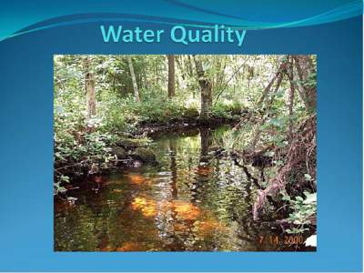 Impacts to Aquatic Habitats from Land-Use or Is It Polluted? Water Pollution is:  The addition of excessive carbon to a system  The addition of large amounts of materials to water
