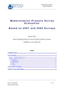 an analysis of globalization and modernization Sociology chapter 10 study  (ex world system analysis  functionalist approach that proposes that modernization and development will gradually improve the.