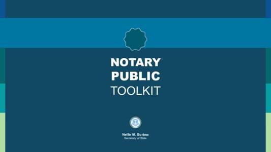 NOTARY PUBLIC TOOLKIT  NOTARY PUBLIC Notary Today