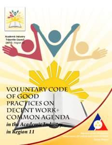 Academic Industry Tripartite Council (AITC) - Region 11 1