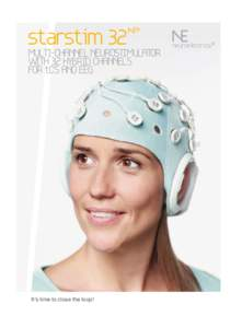 starstim 32  MULTI-CHANNEL NEUROSTIMULATOR WITH 32 HYBRID CHANNELS FOR tCS AND EEG