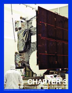 CHAPTER 3  NOAA Procurement, Acquisition, & Construction The latest NOAA Geostationary Operational Environmental Satellite (GOES-O) rotating on a stand for blanket inspection  CHAPTER 3  NOAA procurement, acquisition