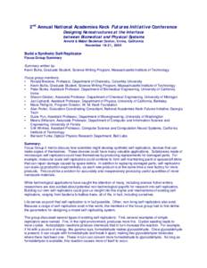 Microsoft Word - Nano_2_Self_Replicator_Summary.doc