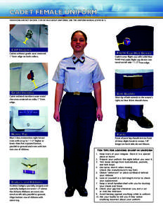 Afrotc Uniform Manual 62