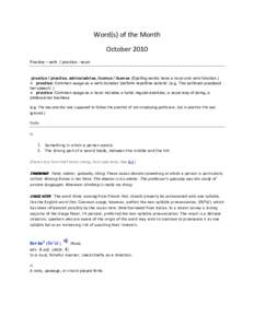 Microsoft Word - Word of the month _Oct_.docx