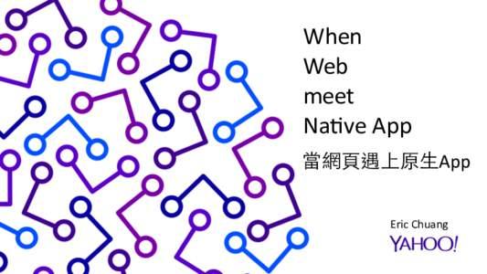 When   Web  meet   Na6ve App  Page Title