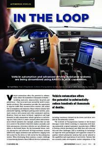 ANSYS Advantage - Spotlight on Automotive